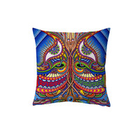 All Over Print Chris Dyer The Apotheosis Of Dualitree Throw Pillow