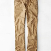 AEO Men's Original Boot Pant (Campus Khaki)