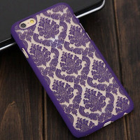 Cute Lace Floral Case Cover for iphone 5s 6 6s Plus Gift