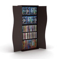 Atlantic Venus 198CD/88DVD Multimedia Cabinet