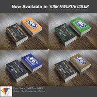 Customized Advocare Business Cards • Full Color Print Both Sides • UV Coated or Matte Finish • 16PT or 14PT Paper Stock