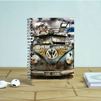 Volkswagen Classic Hdr Photo Notebook Auroid