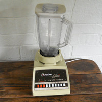Osterizer Blender Vintage Blender Retro Kitchen Yellow Kitchen 70s Kitchen