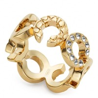 Coach :: Pierced Op Art Ring