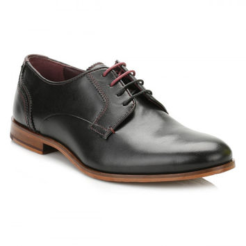 Ted Baker Mens Black IRONT Leather Shoes
