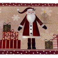 Saint Nick Holiday Place Mat Set of 4