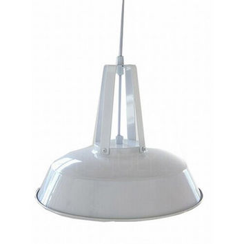 RH Loft simple modern warehouse dinning room vintage industrial Marco Polo pendant lamp light