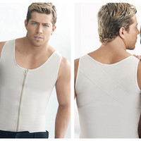 Ann Chery Latex Men Girdle Body Shaper