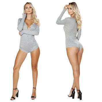 Sweater Onesuit- Grey