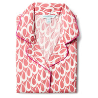 Lucy Nightshirt, Coral/Cream, Pajamas