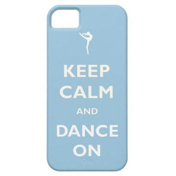 Dance On Dancers Blue Phone Case