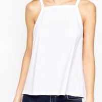 ASOS Vest in Swing Shape with Square Neck at asos.com