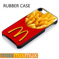Mcdonalds French Fries iPhone 4/4S, 5/5S, 5C, 6/6 Plus Series Rubber Case