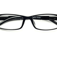 Clear Lens Reading Style Glasses in Black T061 | FREYRS - Sunglasses at Affordable Prices