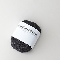 BINCHOTAN CHARCOAL FACIAL CLEANSING PUFF