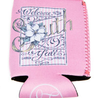 Welcome to the South Koozie by LAUREN JAMES {Pink}