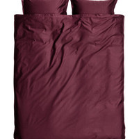 H&M Washed Satin Duvet Cover Set $59.99