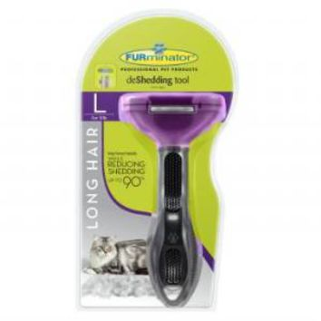 Furminator Long Hair Large Cat DeShedding Tool