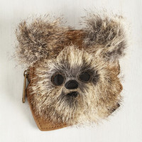 Quirky Ewok the Walk Coin Purse by ModCloth