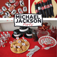 Michael Jackson Party Printable KIT - MJ - Digital File - Printable Party