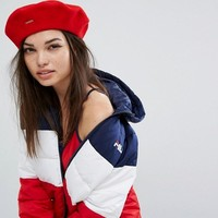 Kangol Logo Red Beret at asos.com