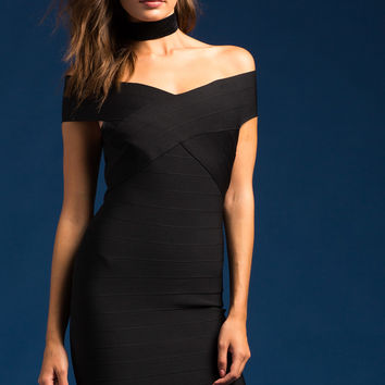 After Party Bandage Dress