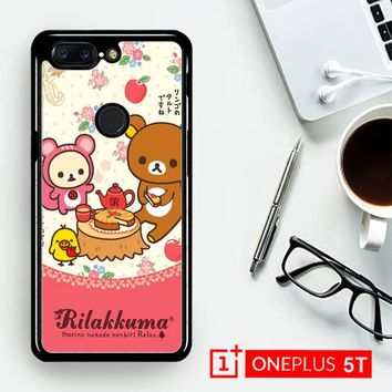 Rilakkuma Y1886  OnePLus 5T / One Plus 5T Case