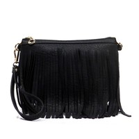 Tag Along Purse: Black