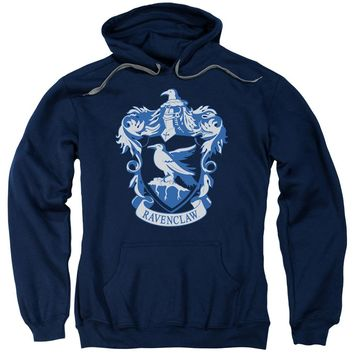 Harry Potter - Ravenclaw Crest Adult Pull Over Hoodie Officially Licensed Apparel