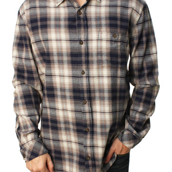 Jack Oneill Men's Kingsbay Flannel Button Down Shirt