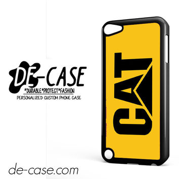 Yellow Caterpillar Logo DEAL-12123 Apple Phonecase Cover For Ipod Touch 5