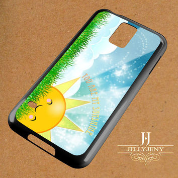 You Are My Sunshine Blue Hair Samsung Galaxy S3 S4 S5 S6 S6 Edge Case | Galaxy Note 3 4 Case