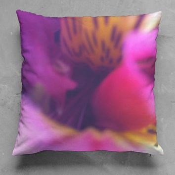 Flower 1 accent pillow