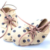 Chocolate Chip- Baby Booties
