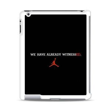 SUPREME AIR JORDAN iPad Case