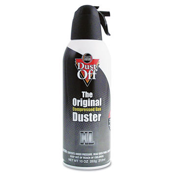 Dust-Off 10 oz Compressed Gas Duster, 1 Pack (DPSXL)