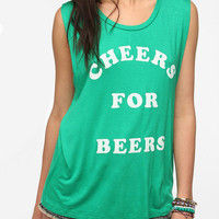 Lords of Liverpool Cheers For Beers Muscle Tee