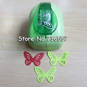 Jef Large Butterfly Shaper Craft Punch Scrapbooking Punches Paper Puncher DIY tools Perforadora Papel Paper Cutter School