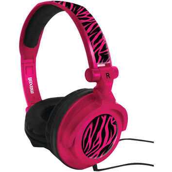 Maxell Amplified Heavy Bass Headphones (hot Pink)