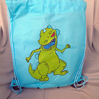 Reptar Drawstring Backpack
