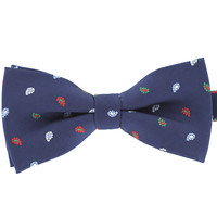 Tok Tok Designs Pre-Tied Bow Tie for Men & Teenagers (B307 , Navy Blue)
