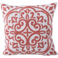 Better Homes and Garden Block Embroidered Medallion Decorative Pillow - Walmart.com