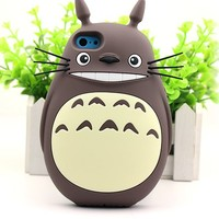 Apple's New Iphone5/5s Phone Shell Mobile Phone Shell Silicone 5 Totoro Cartoon Apple 5s Cover Case (A2)