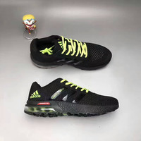 """Adidas"" Fashion Casual Knit Fly Line Surface Men Air Cushion Sneakers Running Shoes"