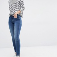 Only | Only Royal Reg Rise Skinny Jeans at ASOS