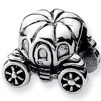 Reflection Beads Silver Pumpkin Carriage Celebrate Bead