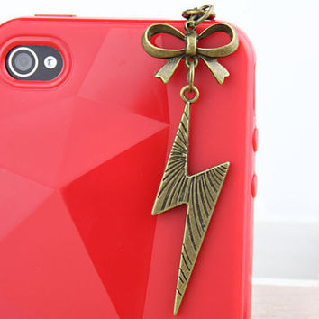 3.5mm Retro Bronze Lightning Dust-proof Plug  for iphone 4s,iPhone 4,iPhone 3gs,iPod Touch 4,HTC,Nokai,Samsung,Sony