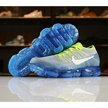 Nike Air VaporMax Flyknit 2018 SPRITE Heritage Zero 849558-022 Sport Running Shoes