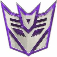 ROCKWORLDEAST - Transformers, Belt Buckle, Decepticons