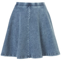 Denim Skater Skirt - Skirts - Clothing - Topshop